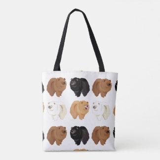bolso del perro chino de perro chino bolsa de tela
