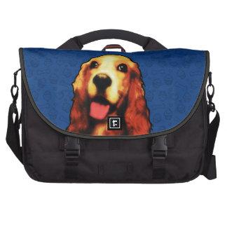 Bolso del perro de aguas de saltador - opciones bolsas para ordenador