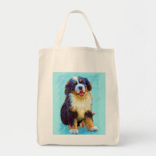 bolso del perro de montaña bernese bolsa de mano