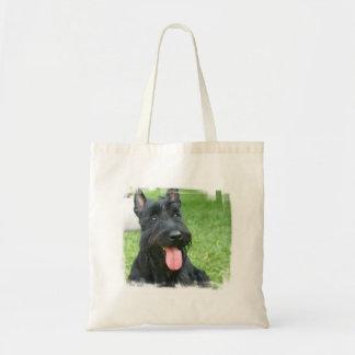 Bolso del perro de Terrier del escocés Bolsas Lienzo