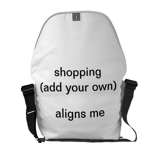 bolso del personalizar bolsa de mensajeria