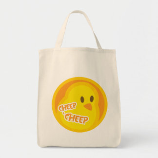 Bolso del pío del pío bolsa tela para la compra