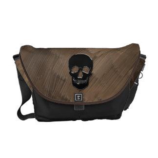 Bolso del pirata - cráneo del ónix bolsas de mensajeria