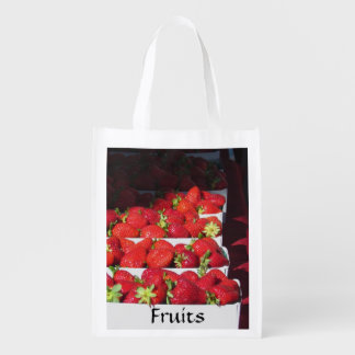 Bolso del poliéster - frutas bolsa para la compra