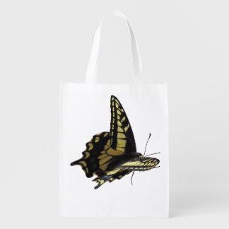 Bolso del poliéster - mariposa de Swallowtail Bolsa Reutilizable