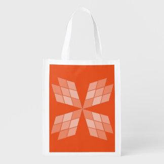 Bolso del poliéster - pétalos del diamante bolsas para la compra