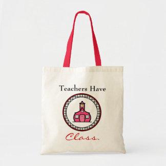 Bolso del profesor bolsa de mano