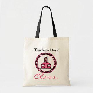 Bolso del profesor bolsa lienzo