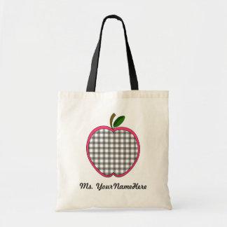 Bolso del profesor de Apple de la guinga Bolsas De Mano
