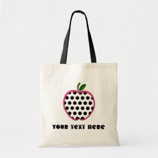 Bolso del profesor - lunar Apple Bolsa Tela Barata