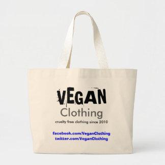 Bolso del promo de la ropa del VEGANO natural Bolsa Tela Grande