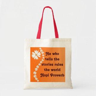 Bolso del proverbio del Hopi Bolsa De Mano