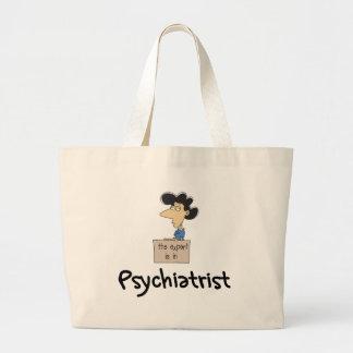 Bolso del psiquiatra bolsa tela grande