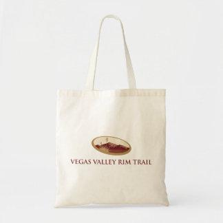Bolso del rastro del borde del valle de Vegas Bolsa Tela Barata