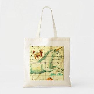 Bolso del regalo de AddUrText del mapa de estrella Bolsa Tela Barata