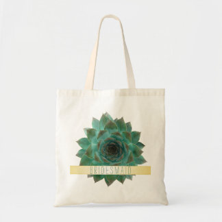 Bolso del regalo de boda de los Succulents para Bolsas De Mano
