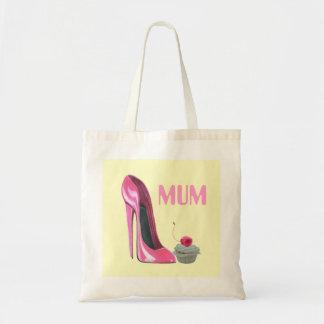 Bolso del regalo de la momia con el zapato y la ma bolsa
