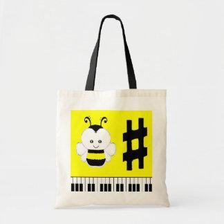 bolso del regalo de la música bolsas