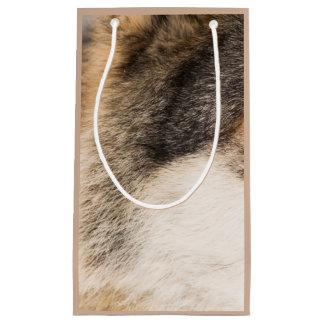 Bolso del regalo de la piel del lobo bolsa de regalo pequeña