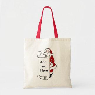 Bolso del regalo de Santa Bolsas