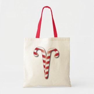 Bolso del regalo de vacaciones de los bastones de bolsas