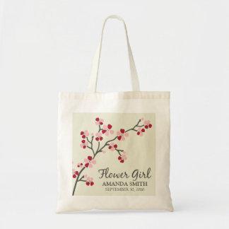 Bolso del regalo del banquete de boda del florista bolsa tela barata
