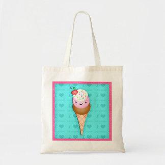 Bolso del regalo del cono de helado de Kawaii Bolsas