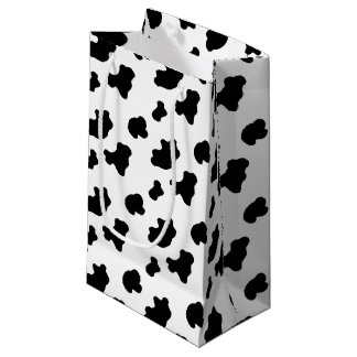 Bolso del regalo del modelo de la vaca pequeño bolsa de regalo pequeña