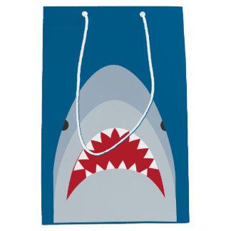Bolso del regalo del tiburón bolsa de regalo mediana