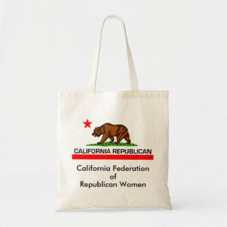 Bolso del republicano 2010 de California Bolsa Tela Barata