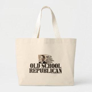 Bolso del republicano de la escuela vieja de Reaga Bolsa Tela Grande