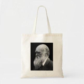 Bolso del retrato de Darwin Bolsa Tela Barata