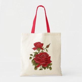 Bolso del rosa rojo bolsas