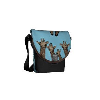 bolso del safari del girraffe bolsa de mensajería