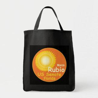 Bolso del senado de RUBIO la Florida Bolsa Tela Para La Compra