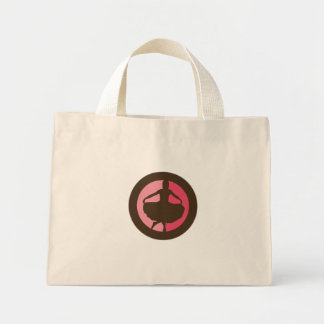 Bolso del símbolo bolsa tela pequeña