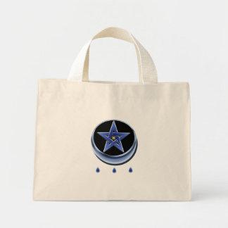 Bolso del símbolo y del Pentagram de la bendición Bolsa Tela Pequeña