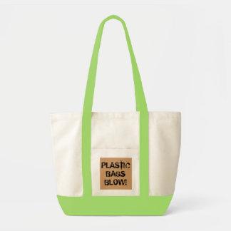 Bolso del soplo de las bolsas de plástico