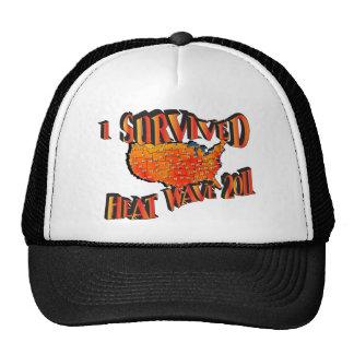 Bolso del superviviente 2011 de la ola de calor gorra