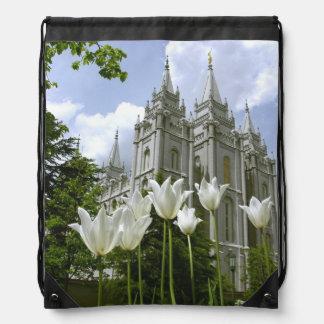 Bolso del templo de LDS SLC Utah Mochilas