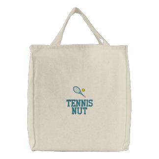 Bolso del tenis con el texto adaptable bolsa