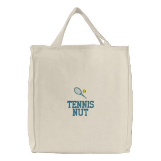 Bolso del tenis con el texto adaptable bolsa de lienzo