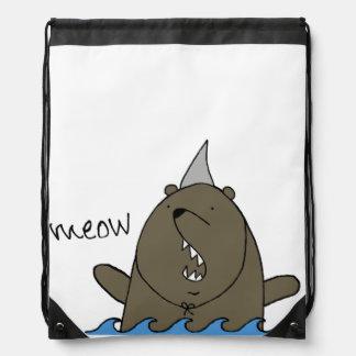 Bolso del tiburón del oso mochilas