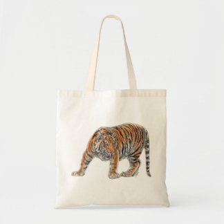Bolso del tigre bolsa tela barata