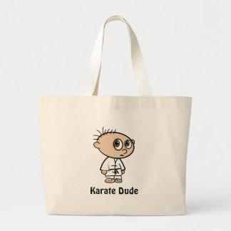 Bolso del tipo del karate para el muchacho de los  bolsas lienzo
