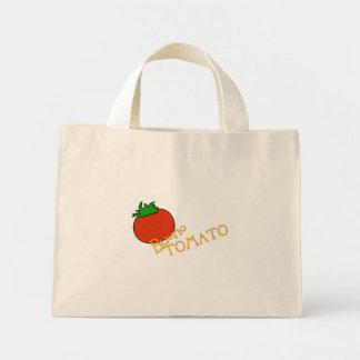 Bolso del tomate de APH Buono Bolsa Lienzo