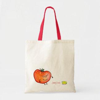 Bolso del tomate del sabelotodo bolsa tela barata