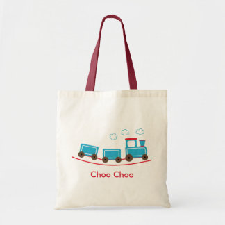 Bolso del tote o del regalo del tren de Choo Choo Bolsas De Mano