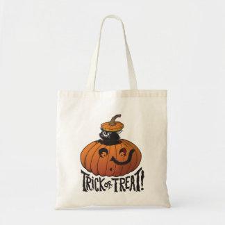 Bolso del truco o de la invitación de Halloween Bolsa De Mano