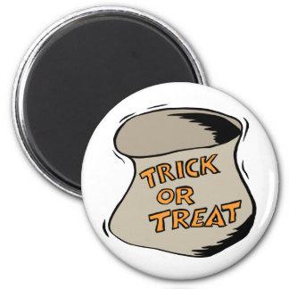 Bolso del truco o de la invitación de Halloween Iman De Frigorífico